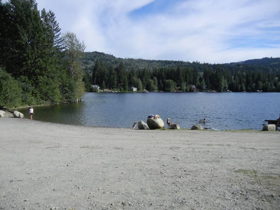 Heffley lake for Take me fishing lake locator